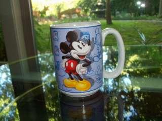 Mickey Mouse Large Ceramic Mug   Dishwasher and Microwave Safe