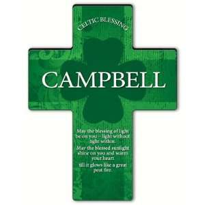 Irish Blessing Shamrock Cross   Old Celtic Blessing Home & Kitchen