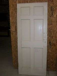 Antique Solid Wood Door 6 panel Slab