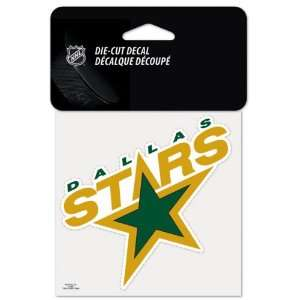 Dallas Stars 4x4 Die Cut Decal