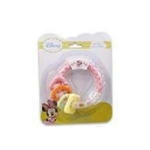 Pink Disney Mickey Mouse Activity Ring Teether For Girls Toys & Games