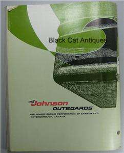 1974 OMC Johnson Outboard Motor Service Instruction Manual 135 HP