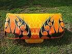 CAR DS GOLF CART CUSTOM Flames PAINT FRONT REAR BODY COWL Ez go Yamaha