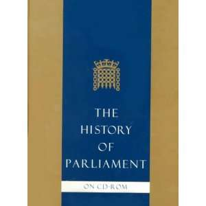 The History of Parliament CD ROM (9780521629072