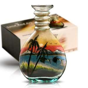 Lake 3 Sand Bottles   Glass Crafts & Sand Art Home