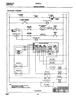 tappan tappan electric range 5995270732 wiring diagram parts  model gsl25jfxnlb wiring schematic