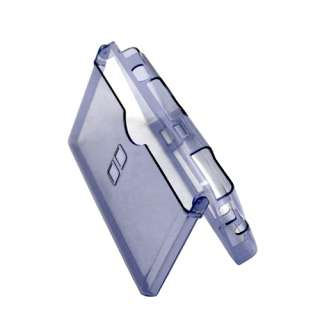 Blue Crystal Clear Case For Nintendo NDS DSL DS lite