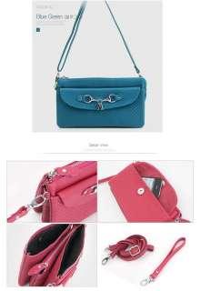 Genuine Cowhide Leather Women Shoulder Bag Tote Handbag Cross body