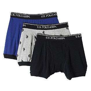 Boxer Brief 3 Pack  US Polo Assn. Clothing Mens Underwear & Socks