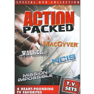 TV Sets Action Packed   MacGyver / Walker, Texas Ranger