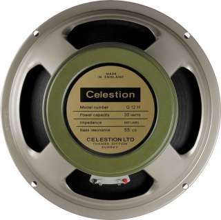 Celestion G12H Heritage Guitar Speaker 8 Ohms 16 ohm 739894128100