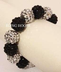 NEW Bling Hoops Rhinestone Bracelet Basketball Wives FAST SHIPPING