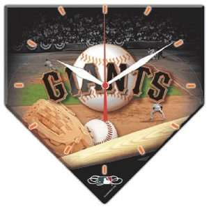 MLB San Francisco Giants High Definition Clock Sports