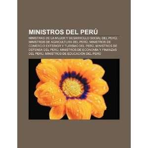 del Perú Ministras de la Mujer y Desarrollo Social del Perú