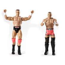 WWE Series 4 Action Figure 2 Pack   The Hart Dynasty   Mattel   Toys