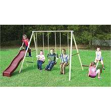 Play A Round Fun Gym Set with Seesaw   Flexible Flyer