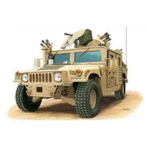 35 US M1114 Up Armored Tactical Vehicle Military Model Kit Toys