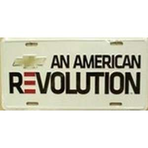 Chevy   An American Revolution License Plate Plates Tag