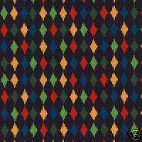 Michael Miller Play Diamond in Black Quilt Fabric 1yd
