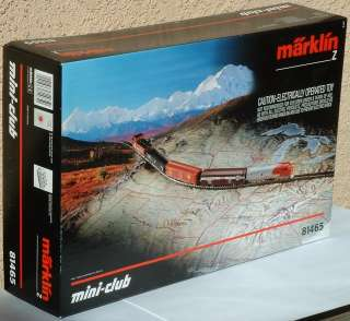 Marklin Z Scale mini club 81465 Santa Fe Set partial NR