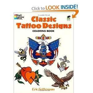 Classic Tattoo Designs Coloring Book (Dover Design