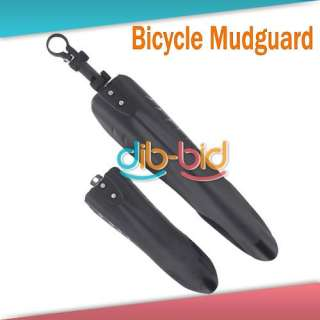 Bike Bicycle Road Front Rear Mudguard Fender Mud Guard