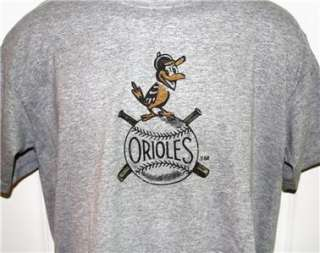 Baltimore ORIOLES 1950s Throwback Logo T Shirt XXL