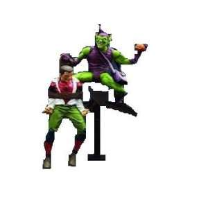 Marvel Select Classic Green Goblin Figure w/Spider Man: Toys & Games