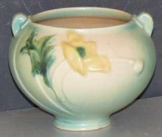 Roseville Art Pottery Poppy Jardinière Bowl Planter