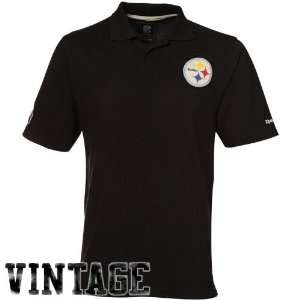 Pittsburgh Steelers Vintage Reebok Retro Polo Shirt