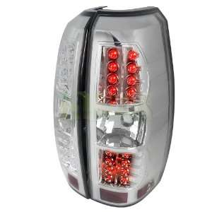 2007 2011 Chevy Avalanche Chrome Led Tail Lights