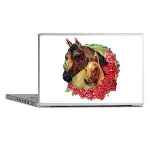 Laptop Notebook 7 Skin Cover Horse And Roses