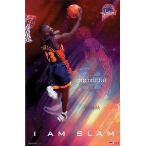 Jason Richardson Golden State Warriors Poster 3457: Home