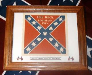Confederate Flag, Civil War Flag, 18th Louisiana Infantry Flag
