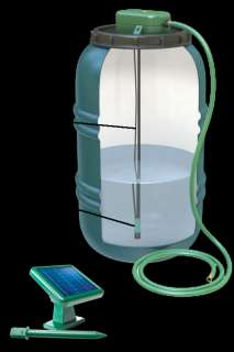 Rain Perfect Solar Powered Rain Barrel Pump Kit to move your rain