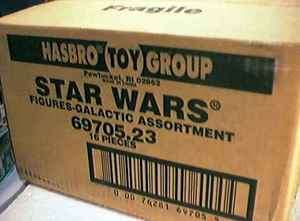 Star Wars Kenner Hasbro Action Figure Case 69705.23 VF