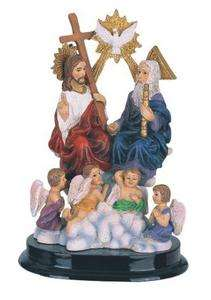 Inch Holy Trinity Religious Figurine Collectible