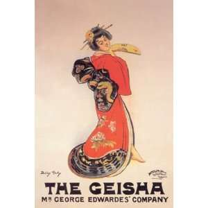 Geisha Mr. George Edwardes Company by Unknown 12x18