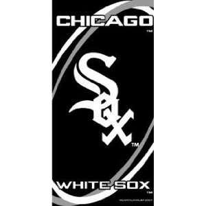 Chicago White Sox Fiber Reactive Pool/Beach/Bath Towel (Team Color