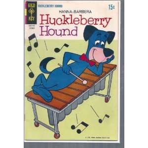 HUCKLEBERRY HOUND # 39, 4.5 VG + Gold Key Books