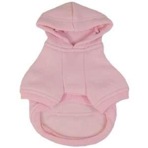 Platinum Pets Dog Sweatshirt Hoodie Dog Coat, Medium, Pink