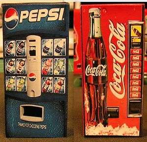 Two Soda Vending Machine 124 G Scale Diorama miniature