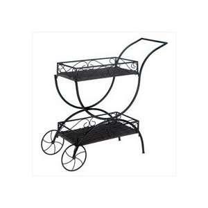Flower Cart Curio Shelf:  Home & Kitchen