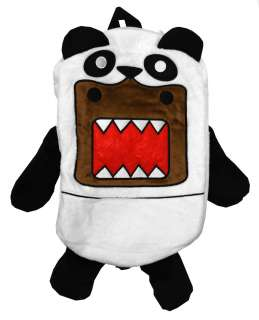 Domo Kun Panda Bear Plush Stuffed Anime Cool Mini Backpack