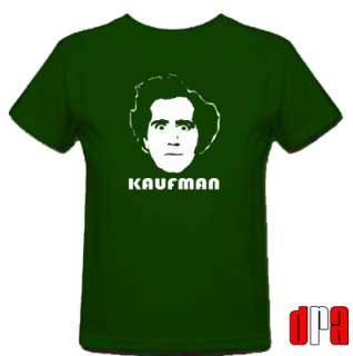 ANDY KAUFMAN TRIBUTE CULT COMEDIAN UNOFFICIAL T SHIRT