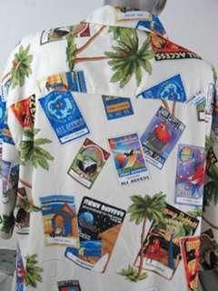 JIMMY BUFFETT HAWAIIAN TOUR SHIRT MADE FOR CREW ONLY