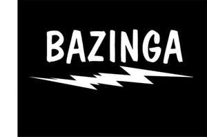 NEW FUNNY T SHIRT BAZINGA BIG BANG THEORY PARODY