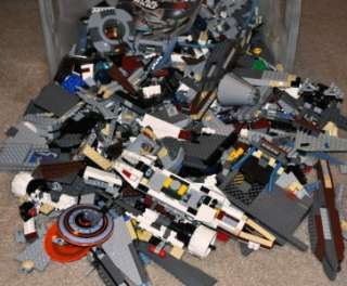 LEGO 500 pc bulk lot of 100% Pieces from Star Wars Lego Sets Parts