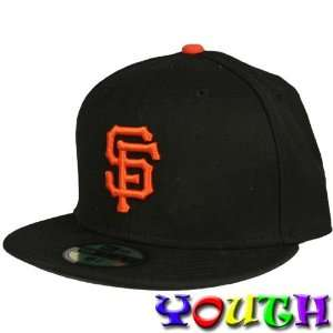 Francisco Giants Youth Fitted 59Fifty Hat (Black)