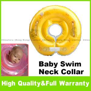 Inflatable Tube Floats Neck Collar Ring Baby Swim Aid